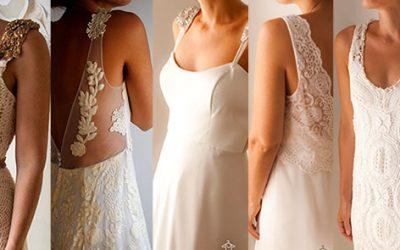Te recomendamos 5 vestidos de novia ideales para un casamiento de día