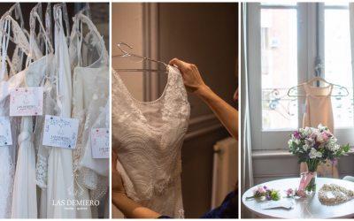 Proceso de realización de tu vestido de novia en Las Demiero